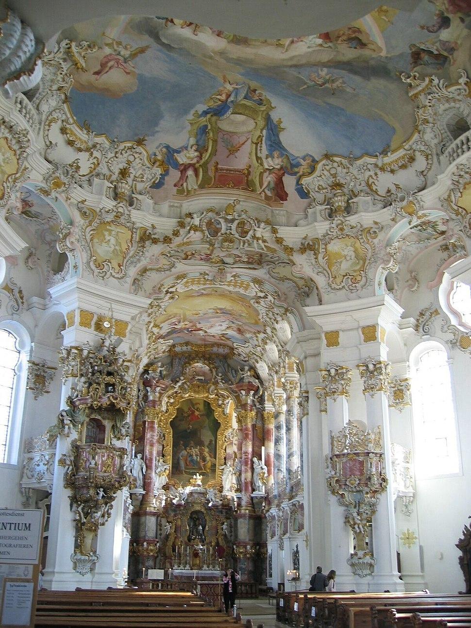 Wies altar