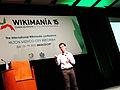 Wikimanía 2015 - Day 4 - Luis von Ahn conference - LMM (4).jpg