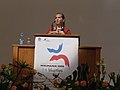 Wikimania 2008 - Closing Ceremony - Florence Devouard - 7.jpg