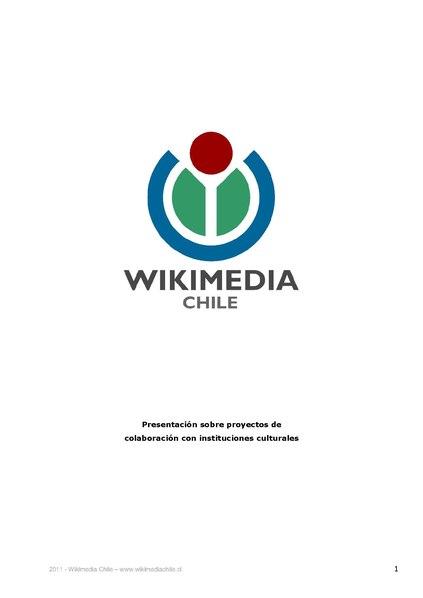 File:Wikimedia Chile - Presentación para instituciones culturales.pdf
