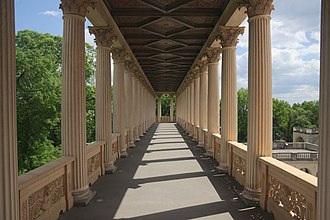 Belvedere on the Pfingstberg - Image: Wikimedia Conference 2015 photo by Pine 16