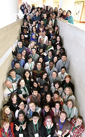 Wikimedia Diversity Conference 2017 in Stockholm Group Photo.jpg