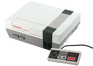 English: Nintendo NES (Nintendo Entertainment ...