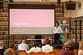 Wikitreff på Litteraturhuset med Silvija Seres 1.jpg