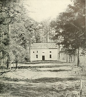 75th Pennsylvania Infantry - After the 75th Pennsylvania was routed along with the remainder of the Eleventh Corps in General Stonewall Jackson's flank attack, scattered elements of the regiment made a brief stand near the Wilderness Church at Chancellorsville.