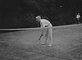 William Beveridge playing tennis at Banstead, c1919.jpg