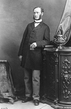 William Hales Hingston - Image: William Hales Hingston 1867