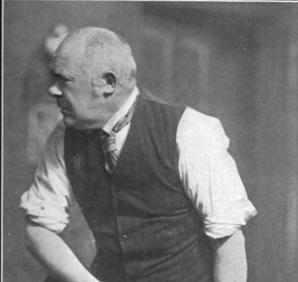 An Englishman's Home - Actor William Hawtrey in An Englishman's Home on Broadway (ca. 1909)