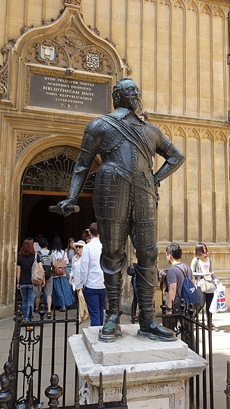 William Herbert, 3rd Earl of Pembroke - William Herbert statue at Bodleian Library, Oxford