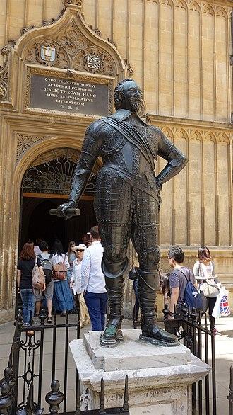 William Herbert, 3rd Earl of Pembroke - William Herbert statue at Bodleian Library, Oxford