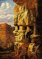 William Henry Holmes - Cliff Houses on the Rio Mancos, Colorado - 1985.66.244,537 - Smithsonian American Art Museum.jpg