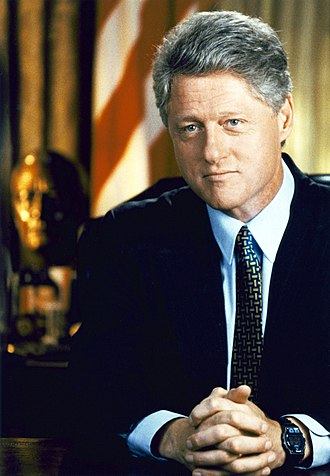 Hand clasping - L phenotype of hand clasping (Bill Clinton)