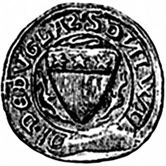 Earl of Douglas - Image: William le hardi seal