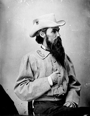 William Mahone - Mahone in Confederate uniform