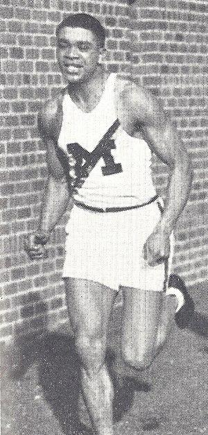 Willis Ward - Ward from the 1934 Michiganensian