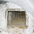 Window of jail - XV centhury - Castle of Siklos - Hungary.jpg