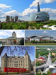 Winnipeg Provincial capital city in Manitoba, Canada