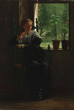 Winslow Homer - At the Window - Google Art Project