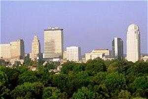 Winston-Salem Memorial Coliseum - Winston-Salem Skyline 2