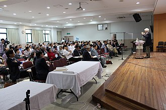 Nicholas Wolterstorff - Wolterstorff speaking in a conference in South Korea, May 24, 2014