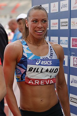 Women 100 m hurdles French Athletics Championships 2013 t150210.jpg