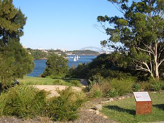 Woolwich, New South Wales - Woolwich Lookout