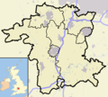 Worcestershire outline map with UK.png