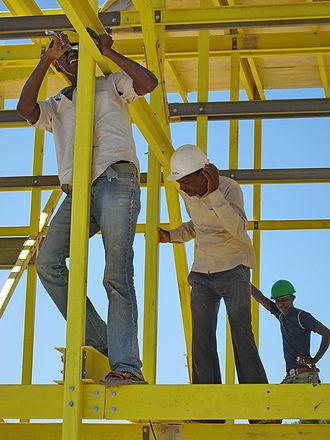 Olkaria - Construction in Olkaria, 2011