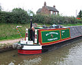 Working Narrow Boat, Shropshire Union Canal, High Offley, Staffordshire - geograph.org.uk - 547994.jpg