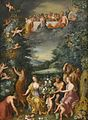 Workshop of Jan Brueghel the Younger and Workshop of Hendrik van Balen the Elder - Homage to the Goddess Flora with a Feast of the Gods.jpg