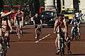 World Naked Bike Ride in London on The Mall, June 2013 (29).JPG