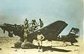 Wrecked Ju 87B with Australians Libya 1941.jpg