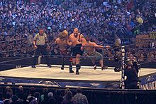 WrestleMania XXV - Triple Threat match.jpg