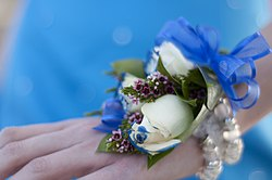 definition of corsage