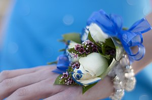 Debs and grads - Corsage given by date