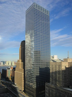 Larry Silverstein - The new, 52-story 7 World Trade Center
