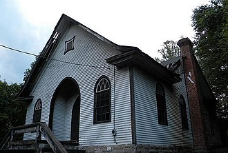 National Register of Historic Places listings in Wyoming County, West Virginia - Image: Wyco WV church