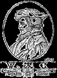 Wynkyn de Worde English printer and publisher