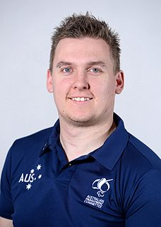 Andrew Harrison (wheelchair rugby) Australian male wheelchair rugby Paralympian