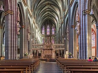 Xanten Cathedral - Xanten Cathedral (interior)