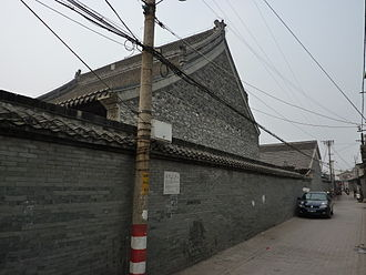 Dong Zhongshu - Temple in honor of Dong Zhongshu in Yangzhou