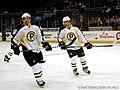 Yannick Riendeau and Matt Bartkowski P-Bruins.jpg