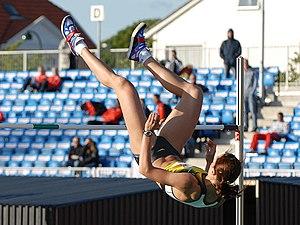 Yelena Slesarenko at Stavanger Games 2007.