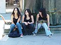 Young Women on Street - Split - Croatia.jpg