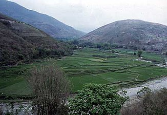 Roter Fluss in Yunnan (China; April 2002)