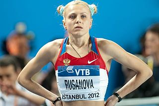 Yuliya Stepanova Russian distance runner