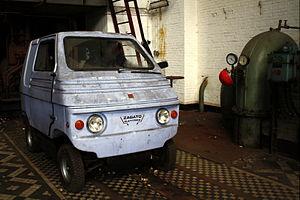 Zagato - The boxy Zagato Zele electric microcar.