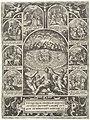 Zaligsprekingen De acht zaligsprekingen, de zeven daden van barmhartigheid, de zeven hoofdzonden en de keuze tussen Goed en Kwaad (serietitel), RP-P-2004-900.jpg