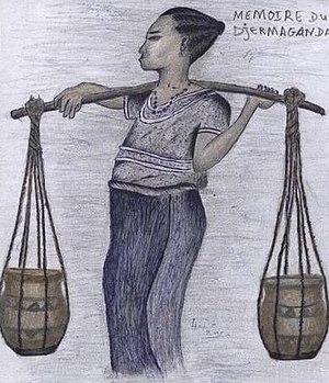Zarma people - A Zarma woman