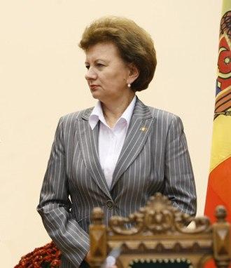Prime Minister of Moldova - Image: Zinaida Greceanîi